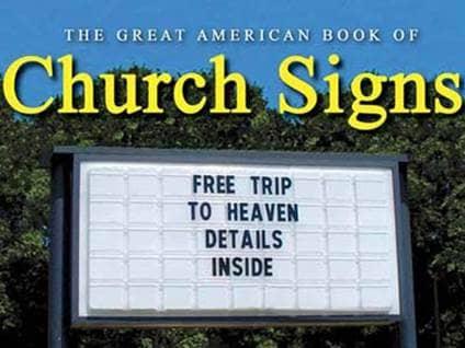 Signf of Faith - Church Signs Across America