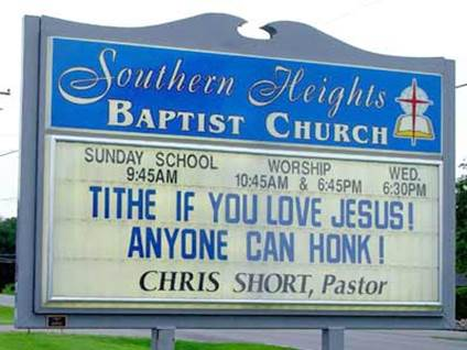Tithe if You Love Jesus