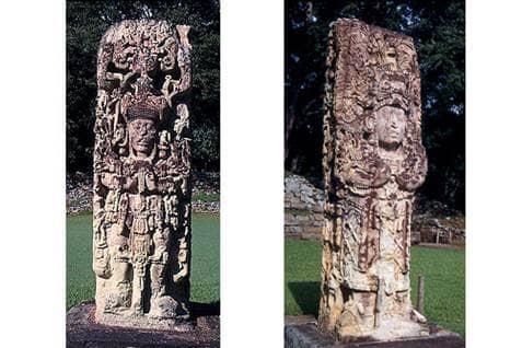 A stela