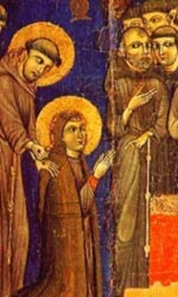 The Real St. Francis vow ran away Order of Poor Ladies