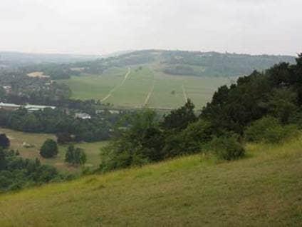 Jane Austen Box Hill England