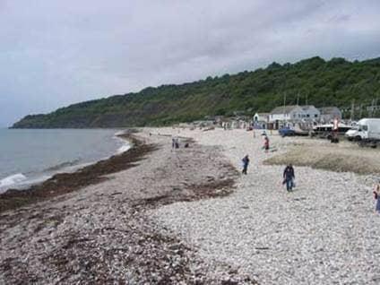 Jane Austen Lyme Beach England