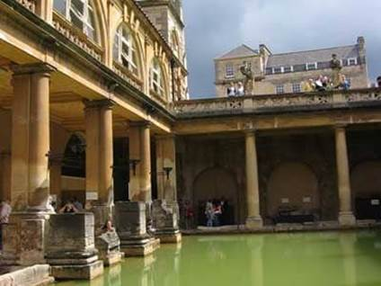 Jane Austen Roman Baths England