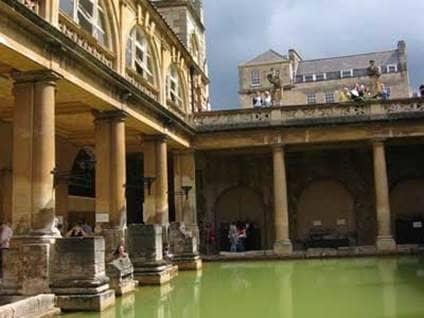 Jane Austen Roman Baths England
