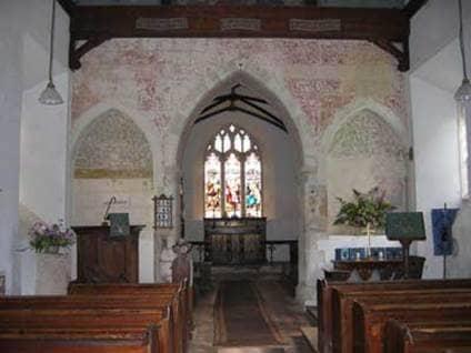 Jane Austen St. Nicholas Church Steventon England