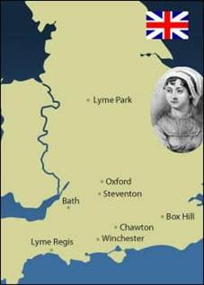 Top 10 Spiritual Jane Austen Places
