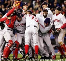 2. Red Sox Reverse The Curse
