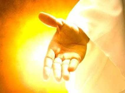 hand of god prayers