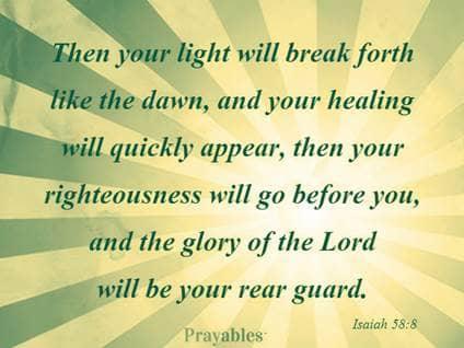Isaiah 58:8