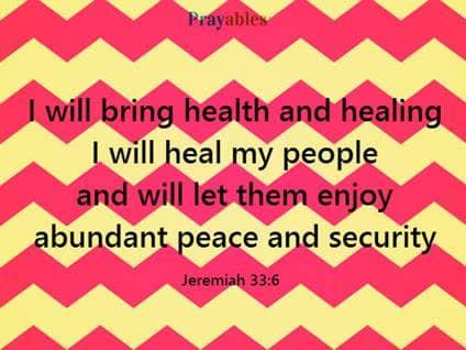Jeremiah 33:6