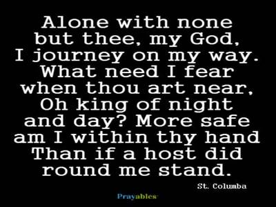 Prayer of St. Columba