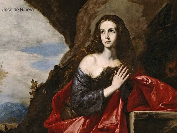 Classical portrait of Mary Magdalene