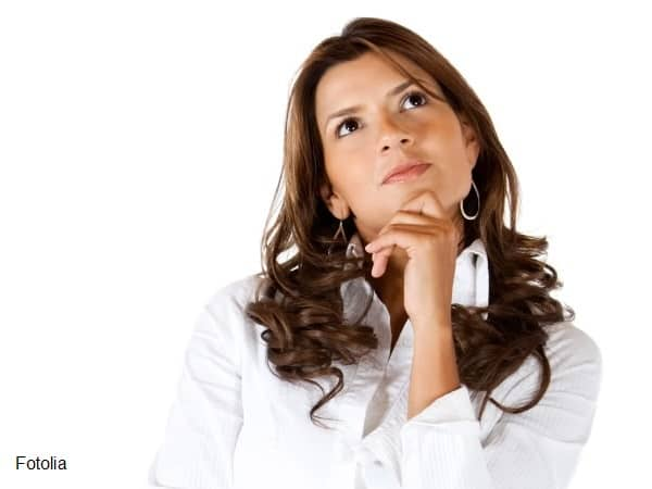 Musing woman