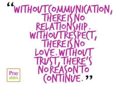 Image of: Sayings Without Communication There Is No Relationship Life Quotes Beliefnet Prayables Life Quotes Inspiration Without Communication There
