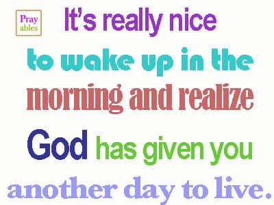 prayables inspirational words for the faithful