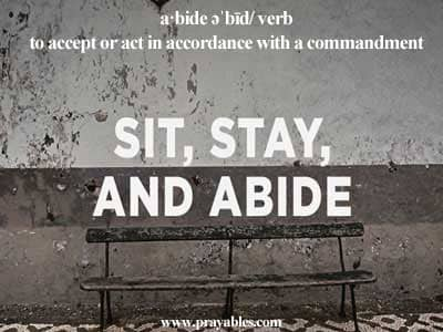inspiring quotes abide