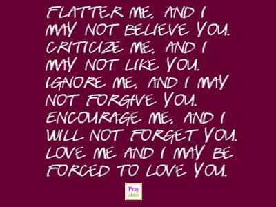 inspiring quotes flatter