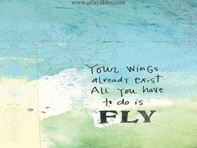 inspiring quotes fly