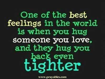 Inspiring Quotes Images | Prayables Inspiring Quotes Inspiration For The Day Hug Someone