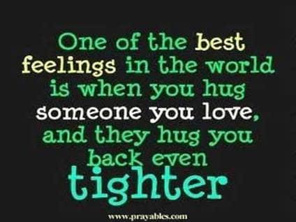 inspiring quotes hugs