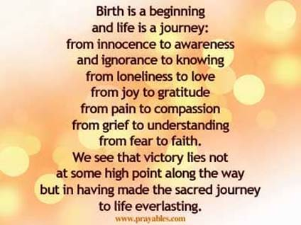 Prayables Inspiring Quotes Inspiration For The Day Birth Is A Inspiration Inspirational Quotes Of The Day For Life