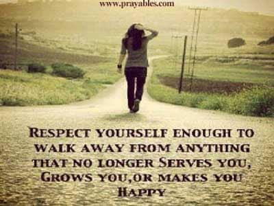 inspiring quotes walk away