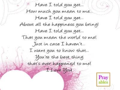 Prayables Love Quotes 10 Quotes About Love Have I Told You Yet