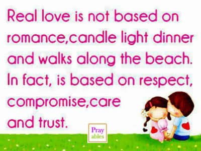 Prayables - Love Quotes - 10 Quotes About Love - Real Love is Not ...
