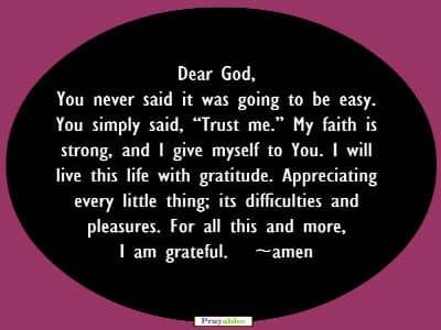 Prayables - 10 Short Prayers - Prayer to God - Trust God Prayer