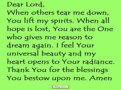 Prayables - 10 Ways to Offer a Prayer for Hope - Prayer for