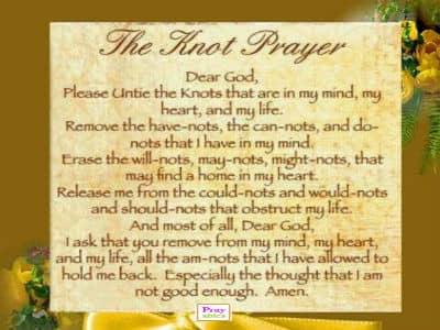 knot prayer