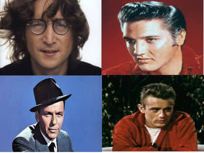 Only Child Lennon, Presley, Sinatra, Dean