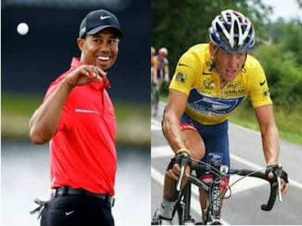 Only child Tiger Woods Lance Armstrong