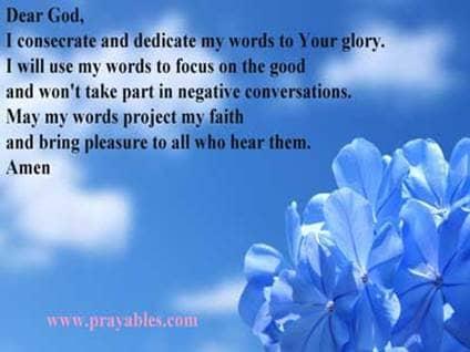 short prayer
