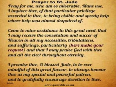 St jude novena for relationships