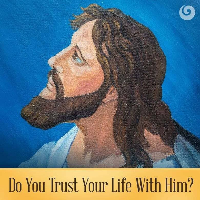 Jesus, trust in the Lord